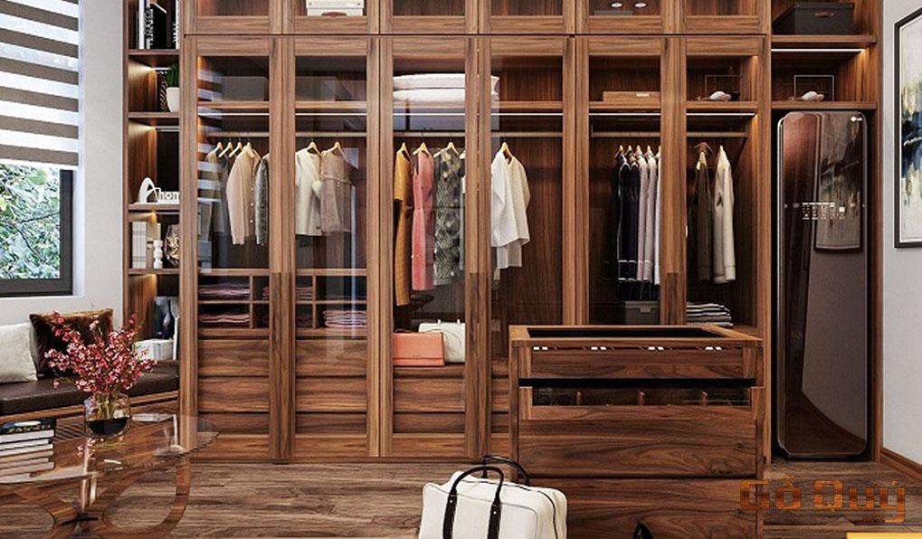Tủ đồ bằng gỗ hương cao cấp