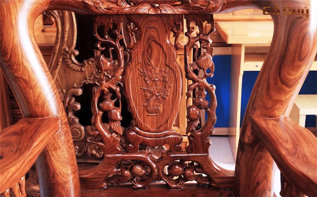 Gỗ hương làm bàn ghế